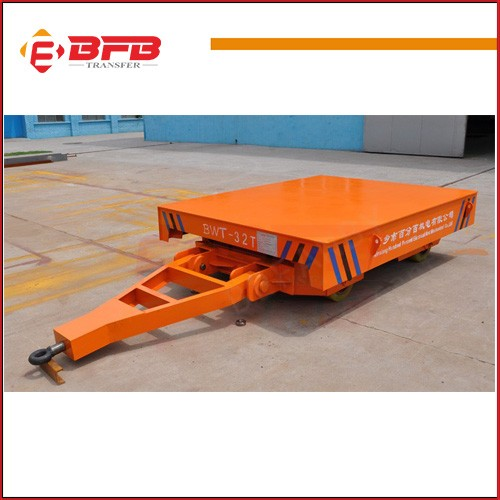 Flatbed tow trailer use car dolly PU wheel transport vehicle