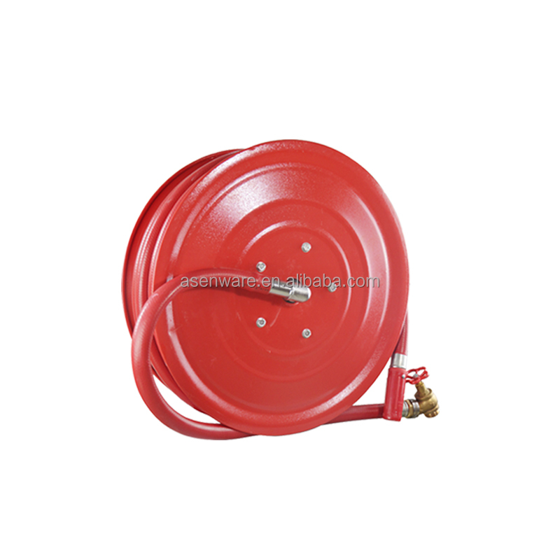 Fire Hose Reel with Valve and Nozzle