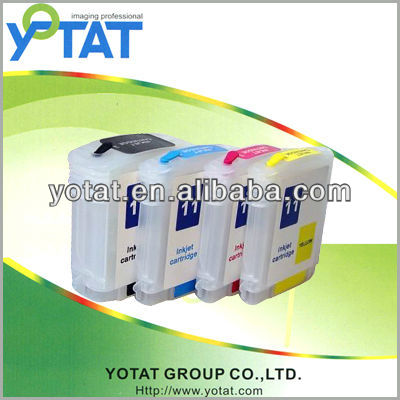The ink cartridge / For HP11 C4836a/37a/38a refill ink cartridge with HP Designjet 100/110/70