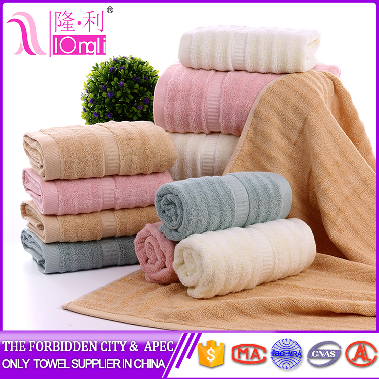 small bamboo towel for commodity with good price