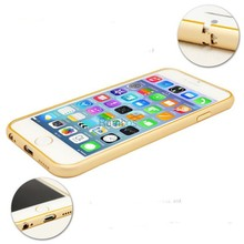 Ultra Thin Aluminum Frame Metal Bumper Case Cell Phone Accessories for Samsung Galaxy S6 Edge/ S6 / Note 4 / Note 3 for iphone 6
