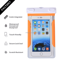 Universal Waterproof Cell Phone Case Bag Box for iPhone for Samsung with IPX8 Certificated