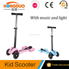 CE approved kids kick scooter wholesalers Hongkong Toys Fair
