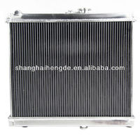 "Full aluminum radiator For Chevy Bel-Air 71-74 Cadillac Calais 65-74 2 Row 1"" Tubes auto radiators manufacturers"