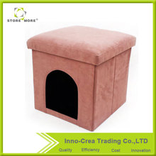 Store More / OEM New Style Wholesale Custom Storage Pet House Ottoman