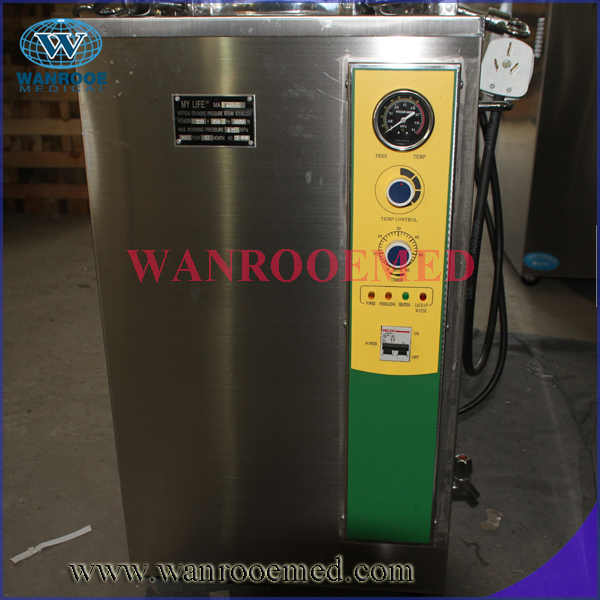 Vertical Medium Size Electric Steam Sterilizer