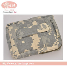 military camouflage canvas tool kit bag