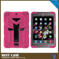 New arrival Shockproof hybrid rubber armor case for iPad mini 3 super cool robot cover