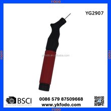 Ball pump with needle for soccer basketball football swim ring(YG2907)