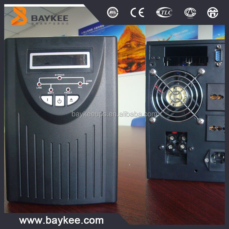 Baykee 1kva online ups 110v/1kva ups price China manufacturer and supplier