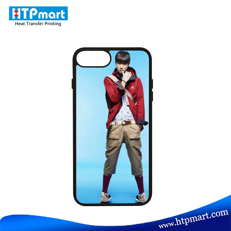 Sublimation Custom 2D soft rubber TPU Phone Case,phone cover for Iphone 7 7 plus
