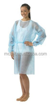 Disposable hospital PPE Gown with tapes