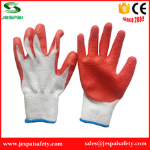 cotton lined rubber gloves