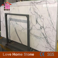 High quality imported calacatta marble white