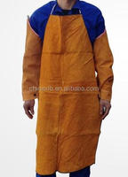 Welding shoe leather cover / leather foot coverLeather aprons welder / welding cowhide leather skirt