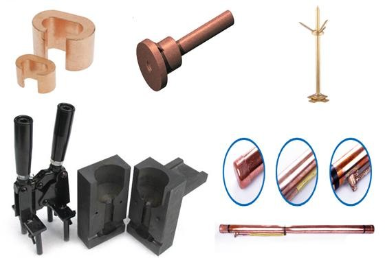 lmm provide best quality compression clad grounding rod for grounding industry. lmm earth rod
