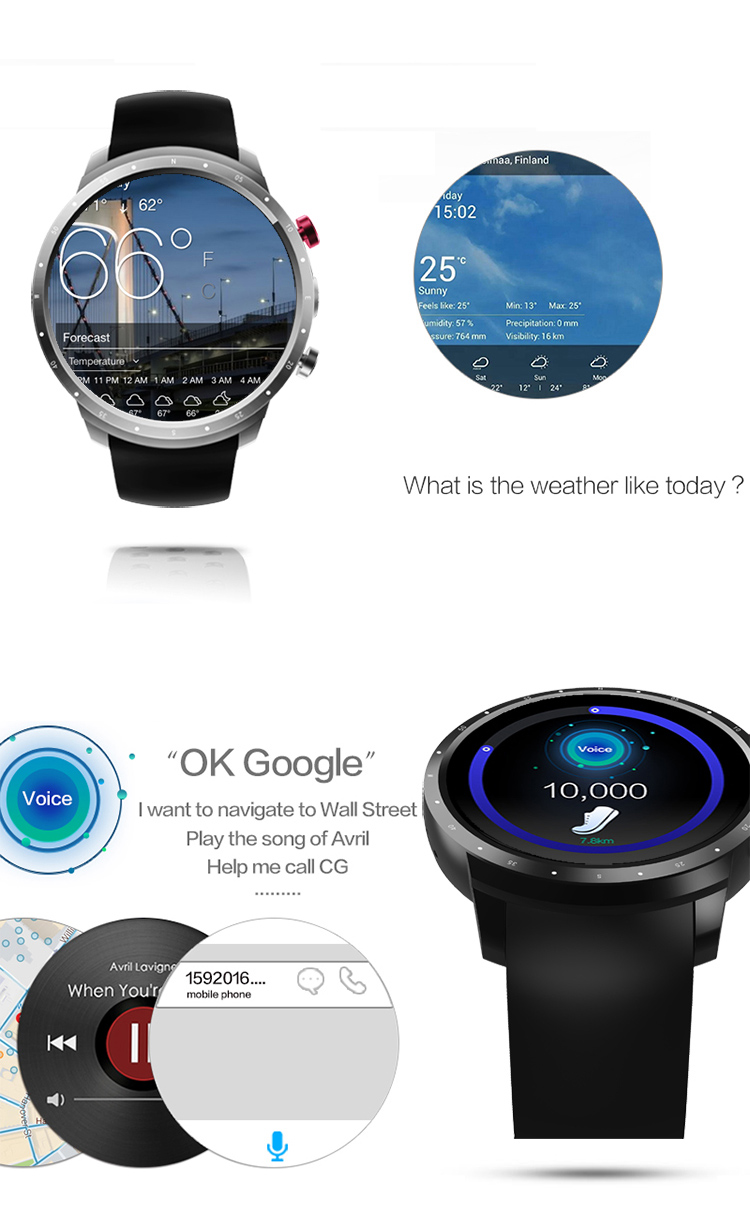 1.39 inch Screen IP65 Waterproof S3 OEM iOS & Android Watch Private Mould Smart Watch