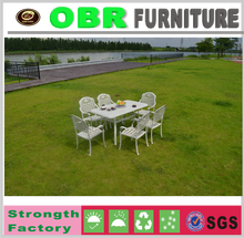 hot sale aluminum chair and table sets