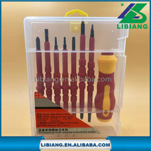 Household electrical insulance screwdriver set