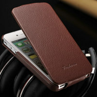 Antique handmade genuine leather mobile phone cover /perfect matching cell phone case for Iphone 5 5S