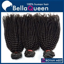 curly human hair bundles malaysia outre human hair For No tangling No shedding