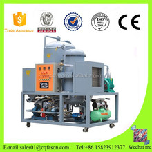 DTS series Two-stage Vacuum Oil Purifier Machine/Transformer oil Filtration System/Vacuum oil filling