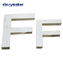 folk art animated MDF christmas decorative small wood letters for crafts