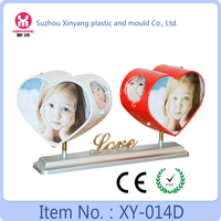 New Model two heart photo frame, love frame photos