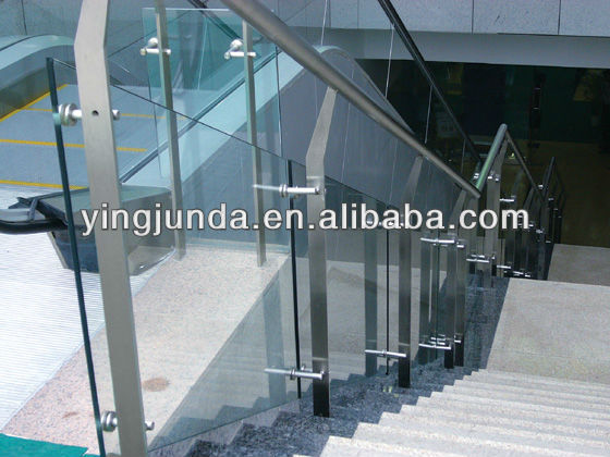 best handrail fitting frameless glass railing glass balustrade