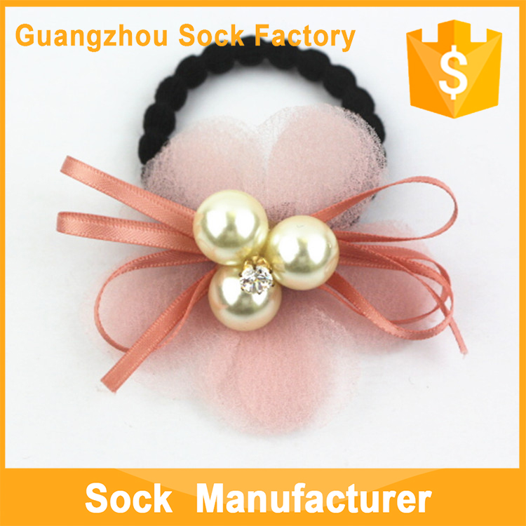 Hair Bands With Ribbon Bow Decorations Cartoon Elastic Hair Band