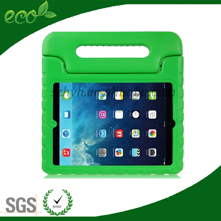 for ipad EVA cute cartoon protective tablet PC case,for apple ipad/ipad air EVA with handle for kids children