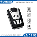 Car anti police GPS laser radar detector with full band voice alert