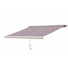 Custom full cassette motorized awning used aluminum awnings for sale