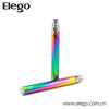 2014 colorful vision rainbow e-cigarette battery rainbow ego battery