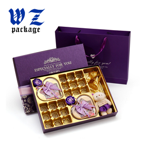 Luxury Hard Fancy Paper Packaging Chocolate Candy Gift box