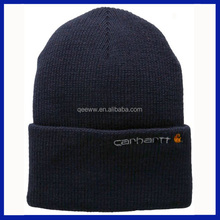 2016 Adults Age Group and Embroidered Pattern knit cotton caps beanie hats