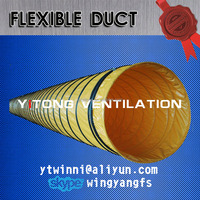 DN500mm 20 inch flex duct air duct OEM Flexible duct and portable ventilator