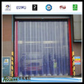 Color anti-static door curtains Polar Ribbed PVC Strip Curtain