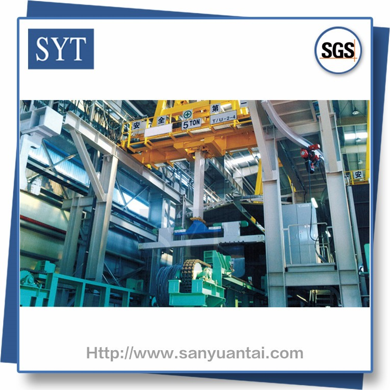SYT China supply automatic deep super fine spring wire picking line