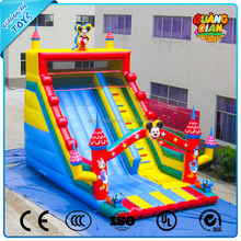 Guangqian Novel Design Cheap Inflatable Jumping Slide Inflatable Dry Slides For Kid