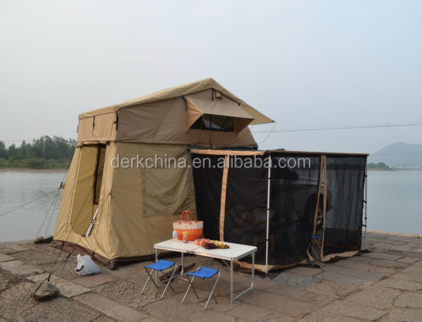 High quality and competitive price waterproof car roof top bell tent for sale