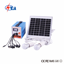 Portable Home Solar Energy System for homely use, Small Solar Generator with solar panel
