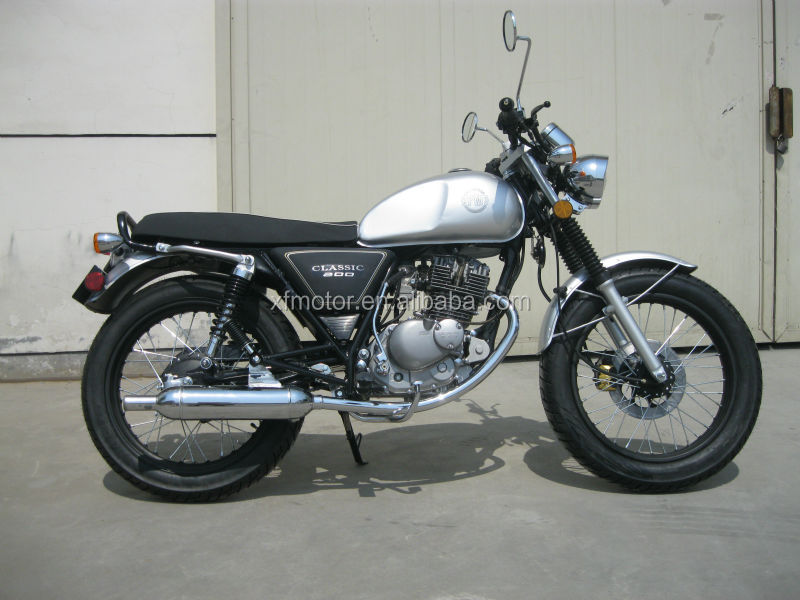 125cc 'classic/retro' Cafe racer, naked, scramble style motorcycle