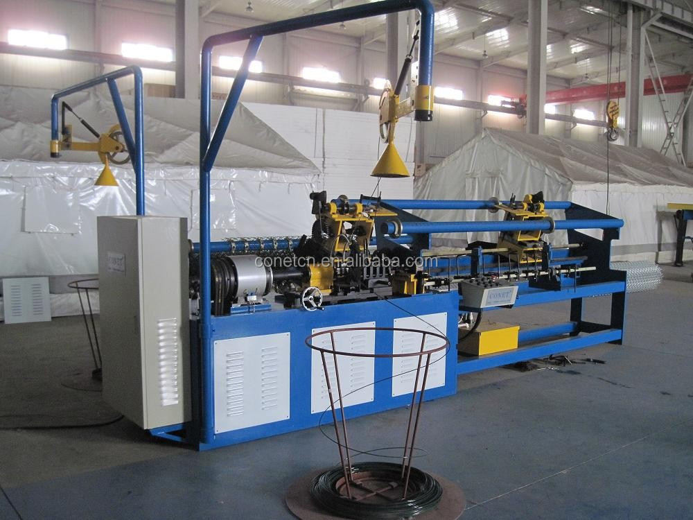 Direct factory !! Full automatic Chain Link Fence Making machine with 14 year factory