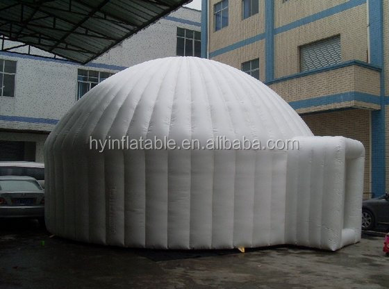 OEM tent factory price large white inflatable camper trailer dome tents