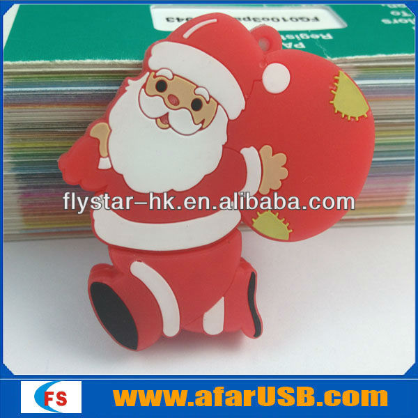 Father Christmas usb, 16gb usb pen drive, USB Promotion Gift