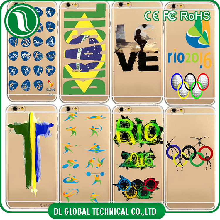 New coming rio 2016 custom print case for iphone 6s 2016 olympic design tpu print case DLPC37