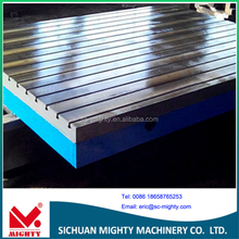 HT200-300 Cast Iron High Precision Welding Surface Plate with T-slot