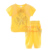 New Casual Yellow Girl Clothing Sets Including Top And Pant Summer Girls Set Fancy Baby Wear CS30626-54
