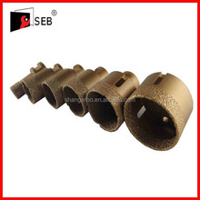 Trustworthy china supplier vacuum brazed diamond core drill bit Hot sale
